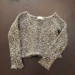 Townsen Grey Sparkle Sweater 2T